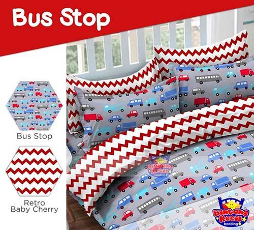 sprei-star-bus-stop-merah