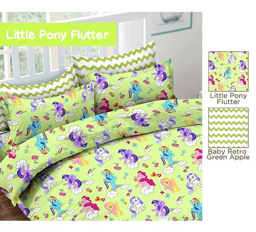 little-pony-flutter-hijau