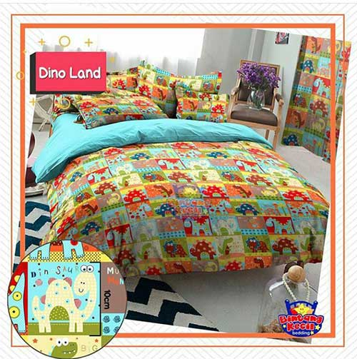 sprei-star-dino-land