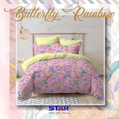 sprei-star-butterfly-rainbow-pink