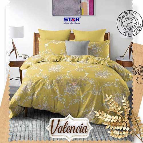 sprei-star-valencia-gold