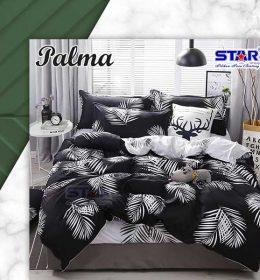 sprei-star-palma-hitam