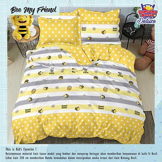sprei-star-bee-my-friend