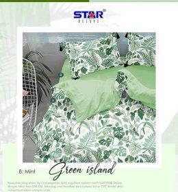 sprei-star-green-island